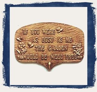 Decorative Plaques & Signs