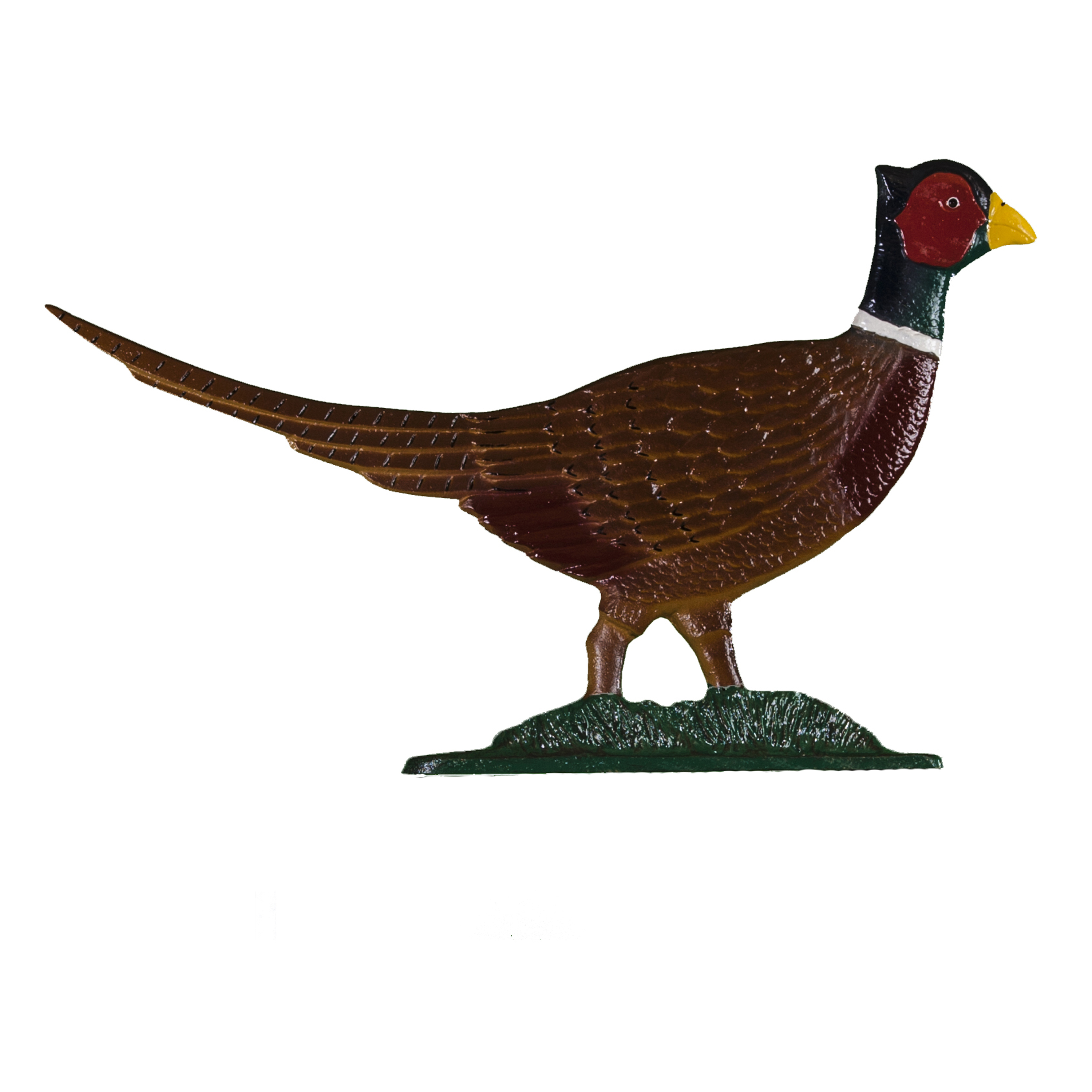 Pheasant Post Sign - 1 Line