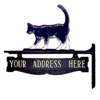 Cat Post Sign - 1 Line
