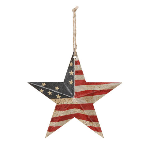 Americana USA Flag Barn Star - 5-3/4in