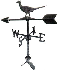 Cast Aluminum Pheasant 24in Weathervane