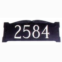 Custom Wall Mount Address Sign - Large 1 Line
