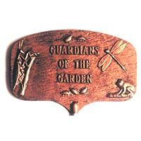 Guardians of the Garden Garden Plaque