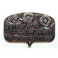 Bright to Everyones Delight Garden Plaque