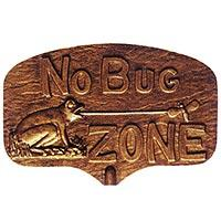No Bug Zone Garden Plaque