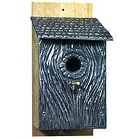 Swallows Hollow Aluminum Birdhouse