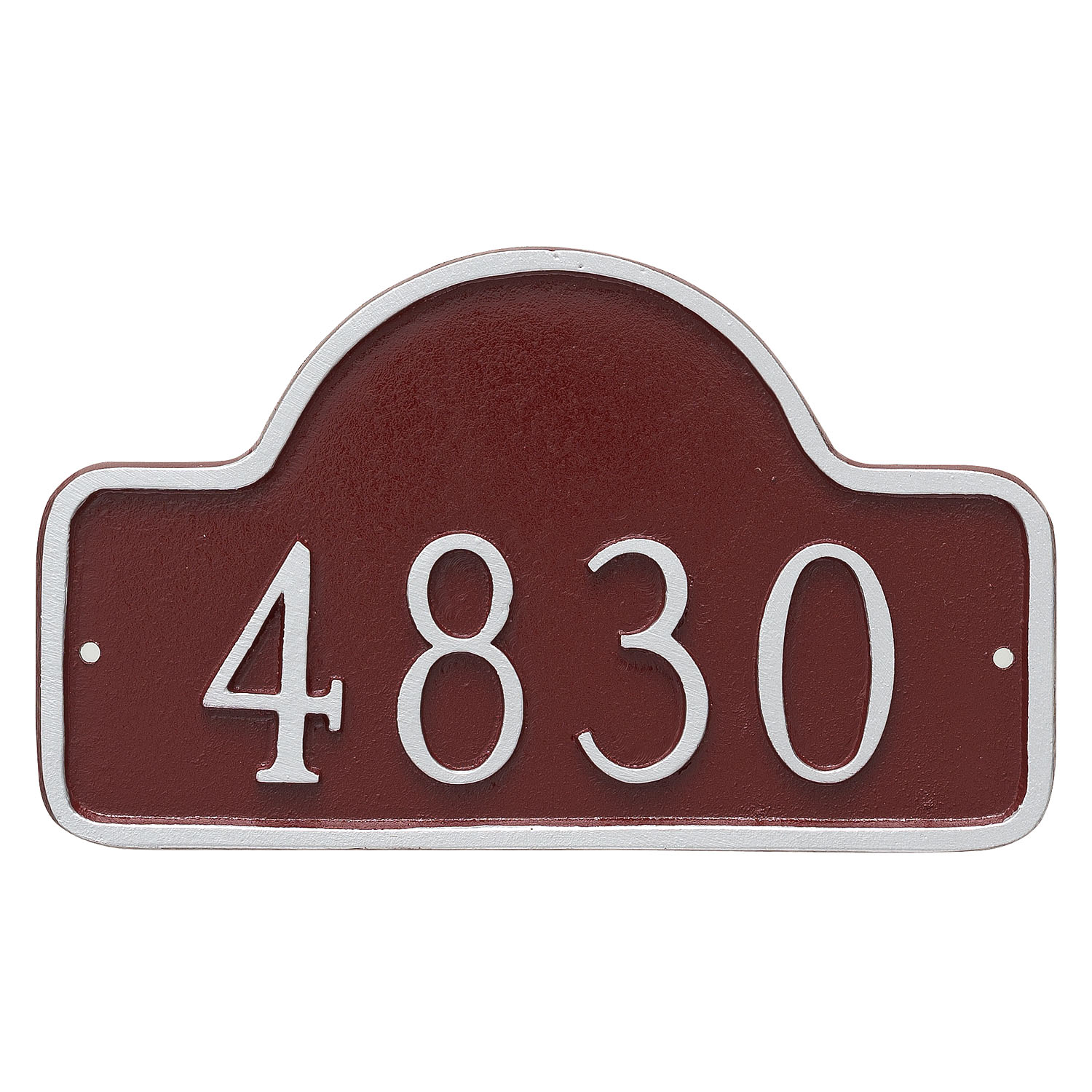 Lexington Arch Address Plaque - Petite