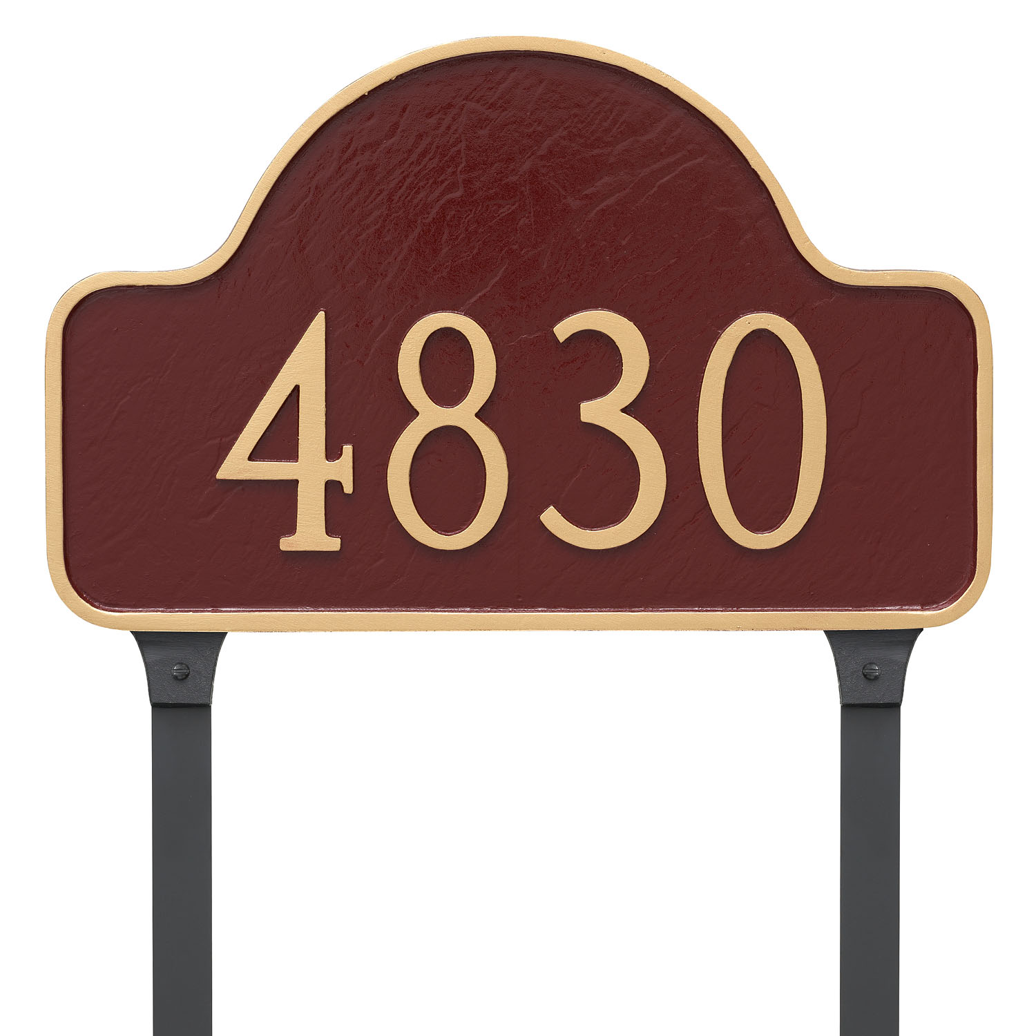 Lexington Arch Address Plaque - Small