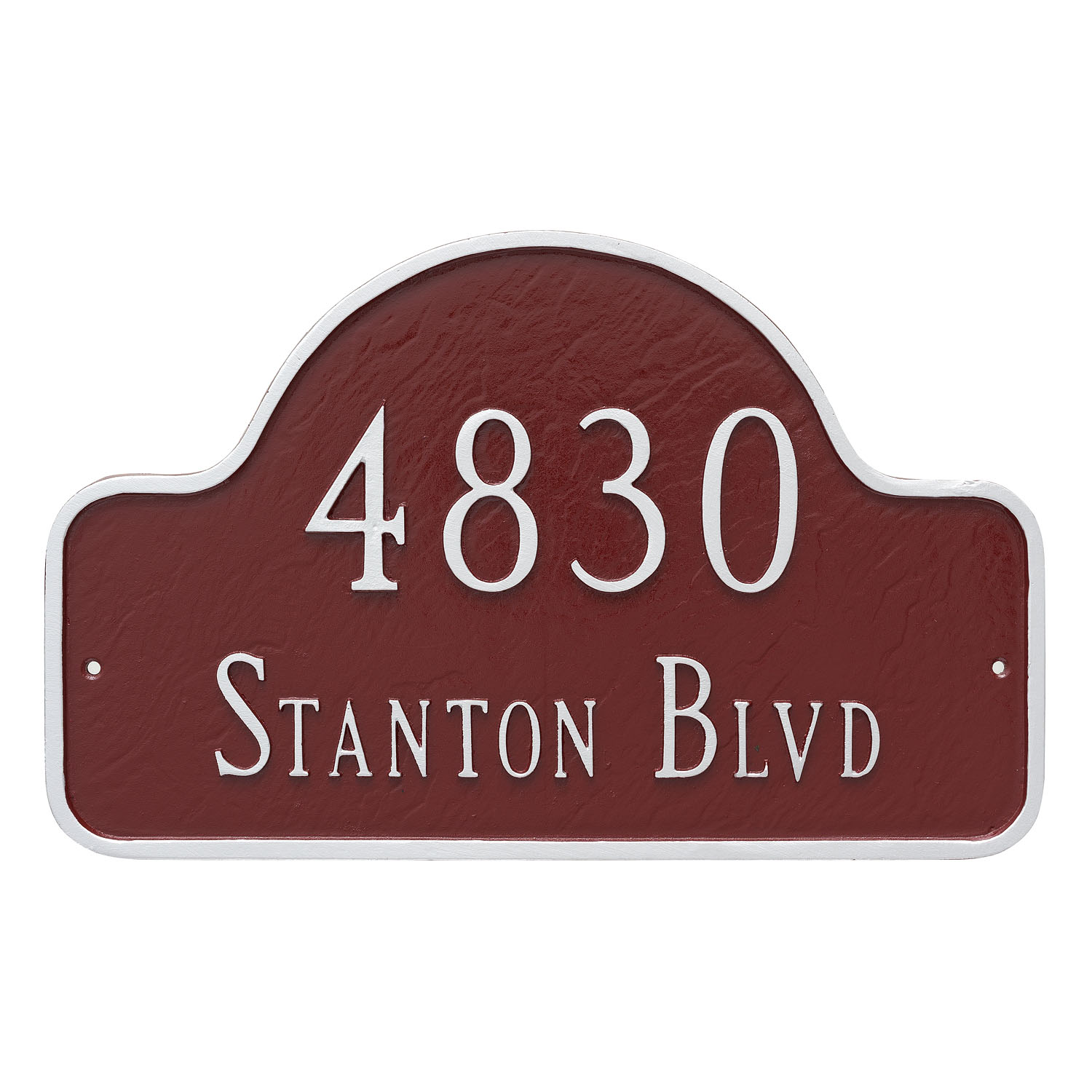 Lexington Arch Address Plaque - Estate