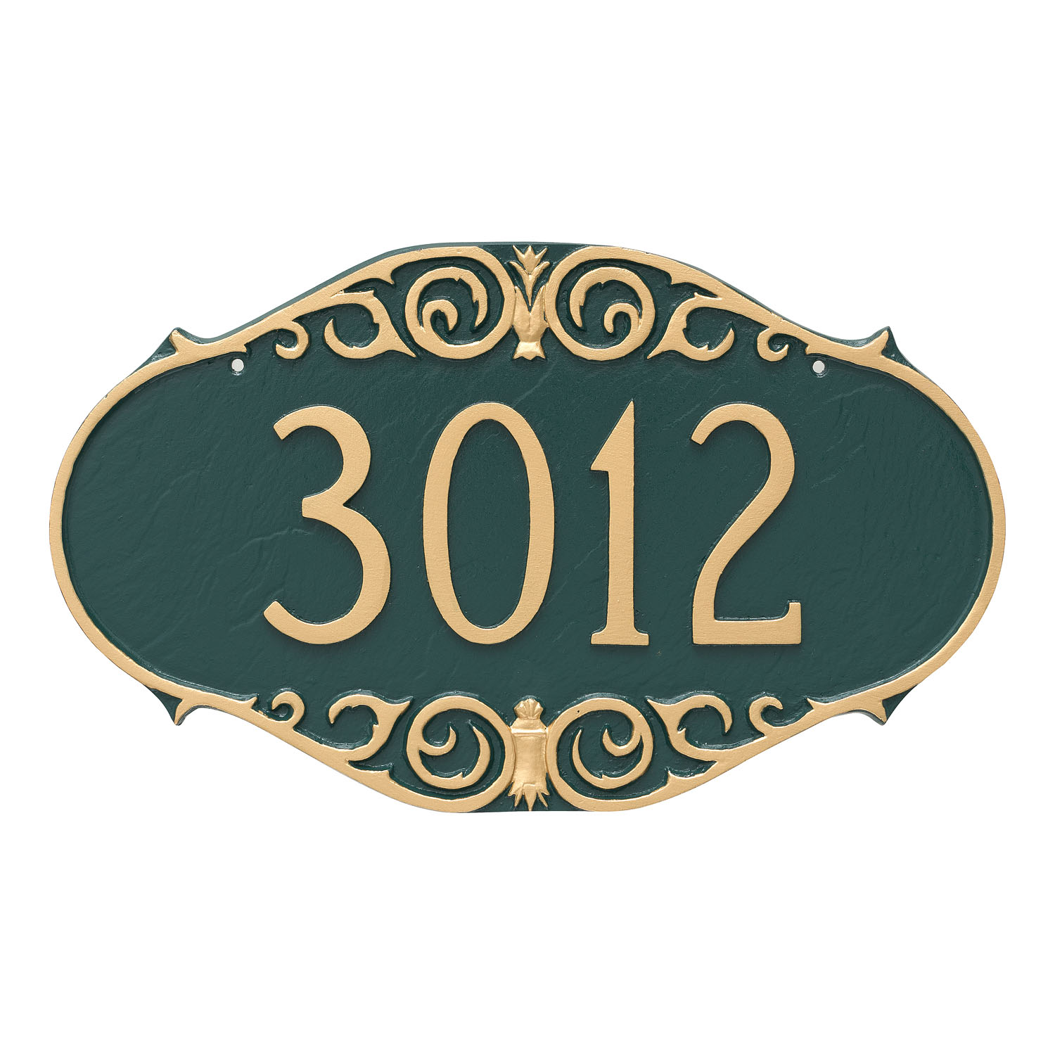 Victorian Address Plaque