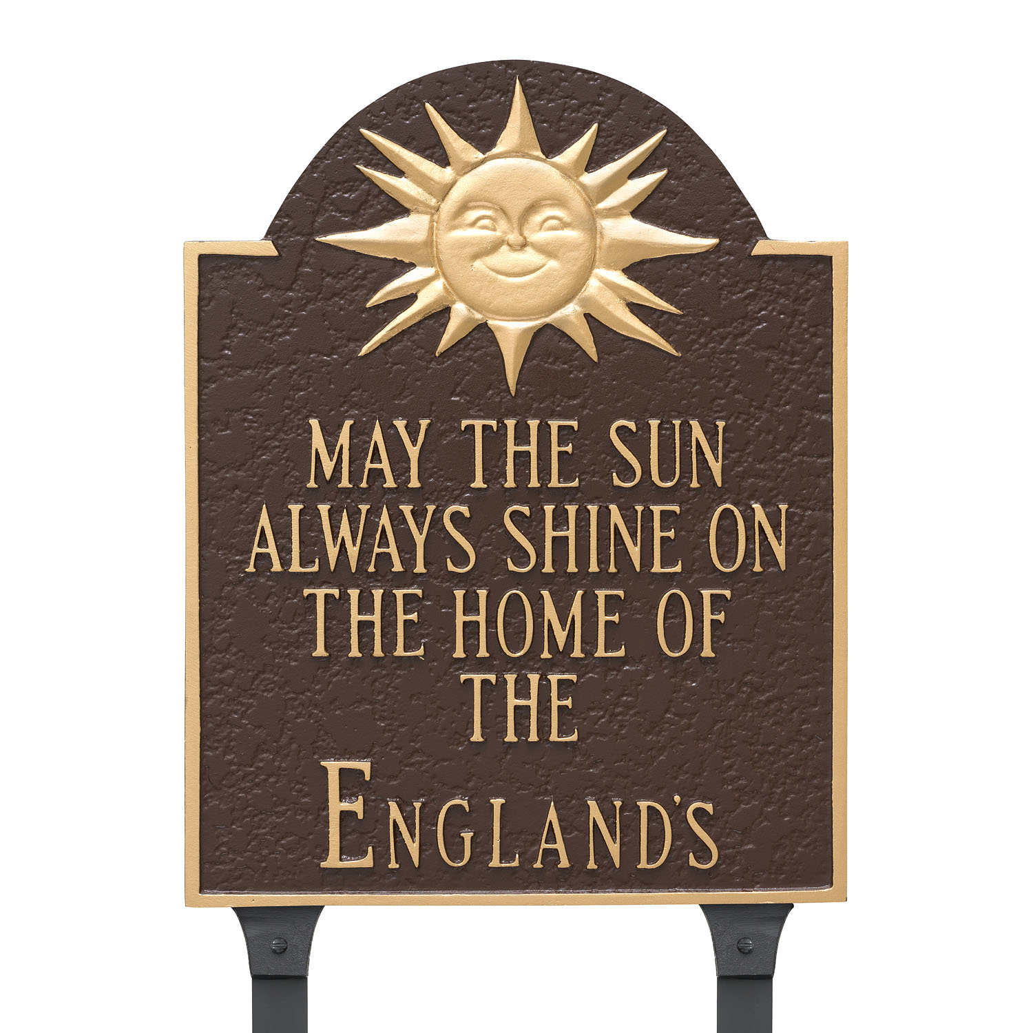 Home of Sunshine Building Plaque