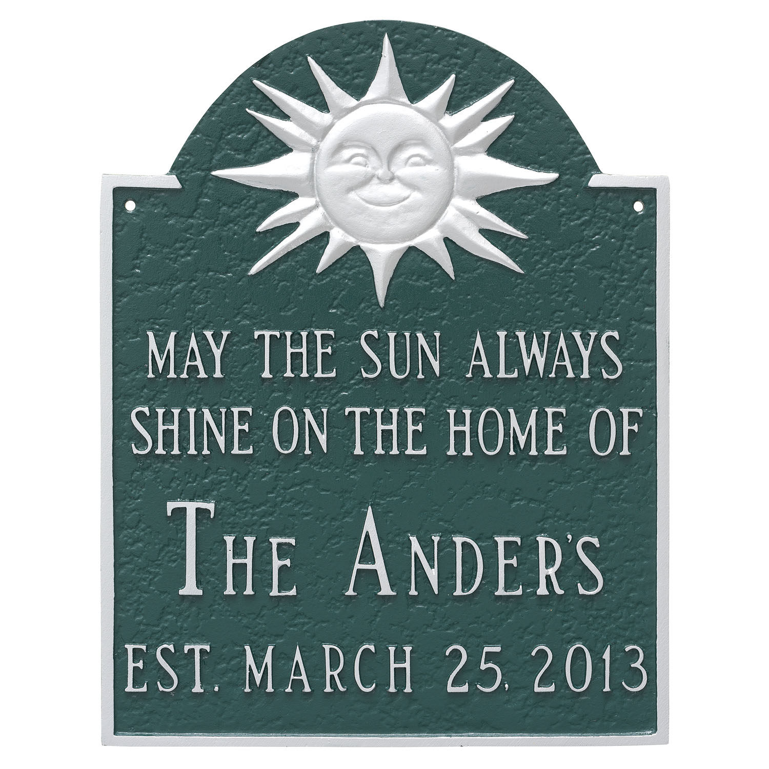 Established Sunshine Building Plaque