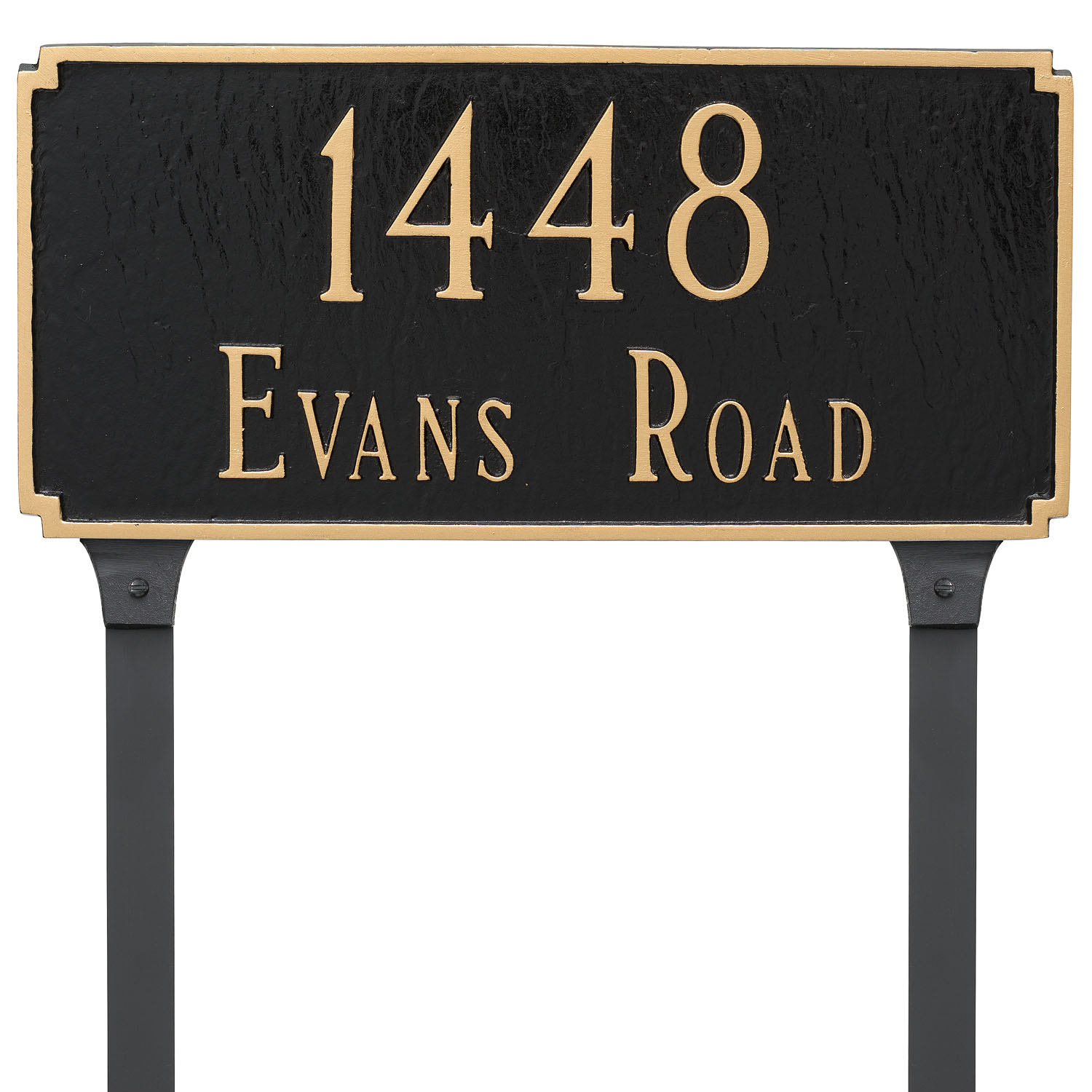 Madison Address Plaque - Standard