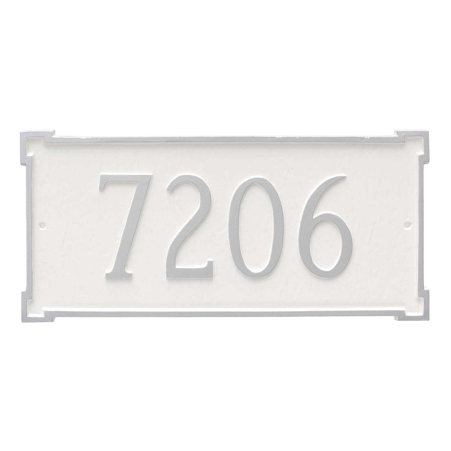 New Yorker Address Plaque - Estate - 1 Line