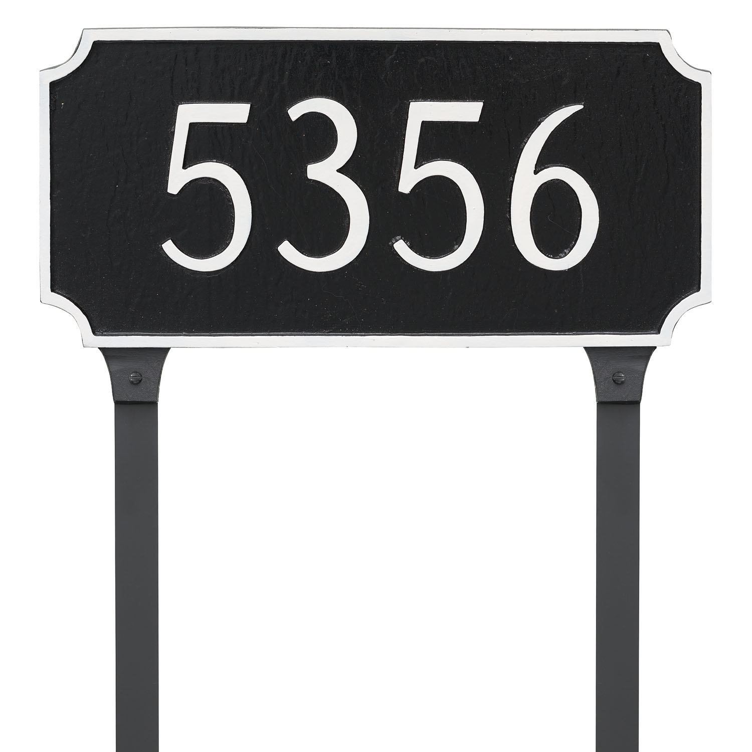 Princeton Address Plaque - Standard - 1 Line