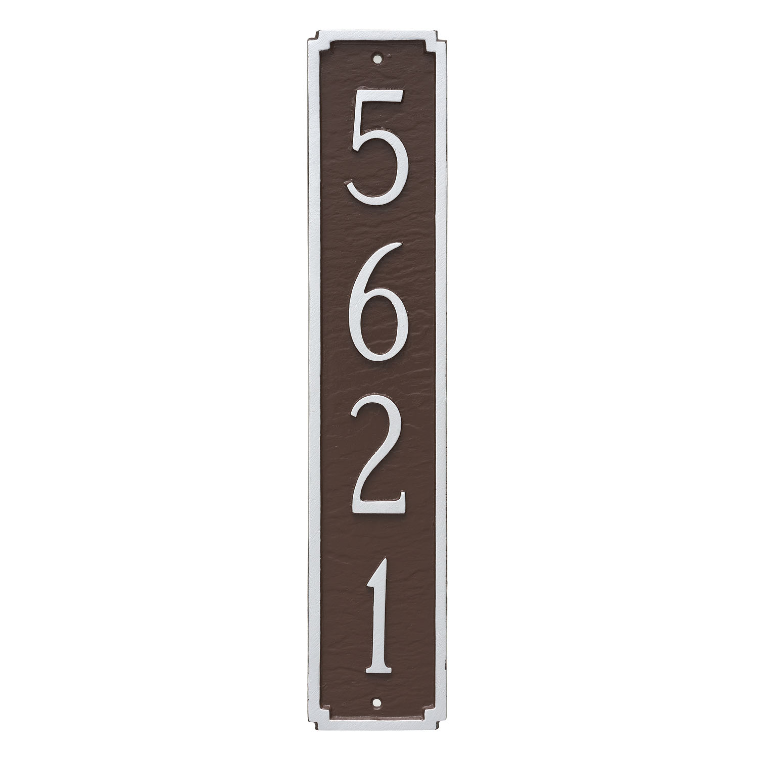 Madison Vertical Address Plaque