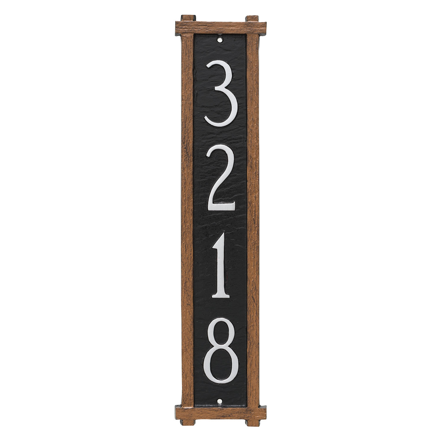 Mission Vertical Address Plaque