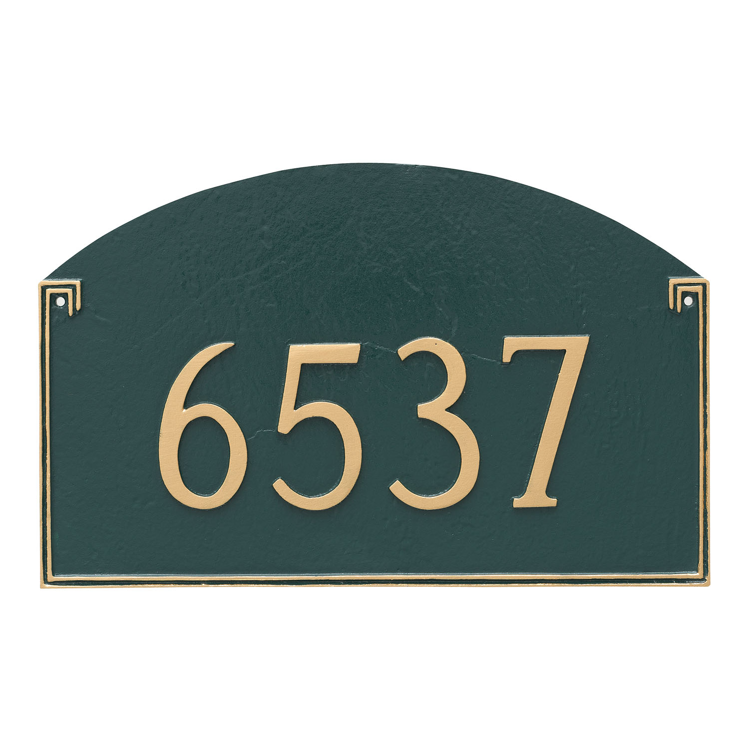 Georgetown Arch Address Plaque - Standard
