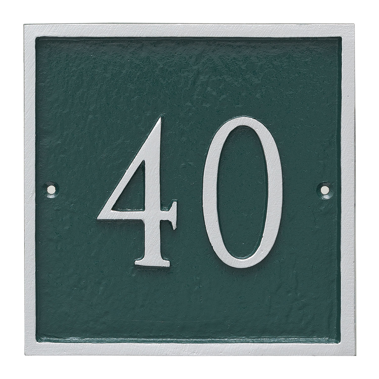 Square Address Plaque - Petite