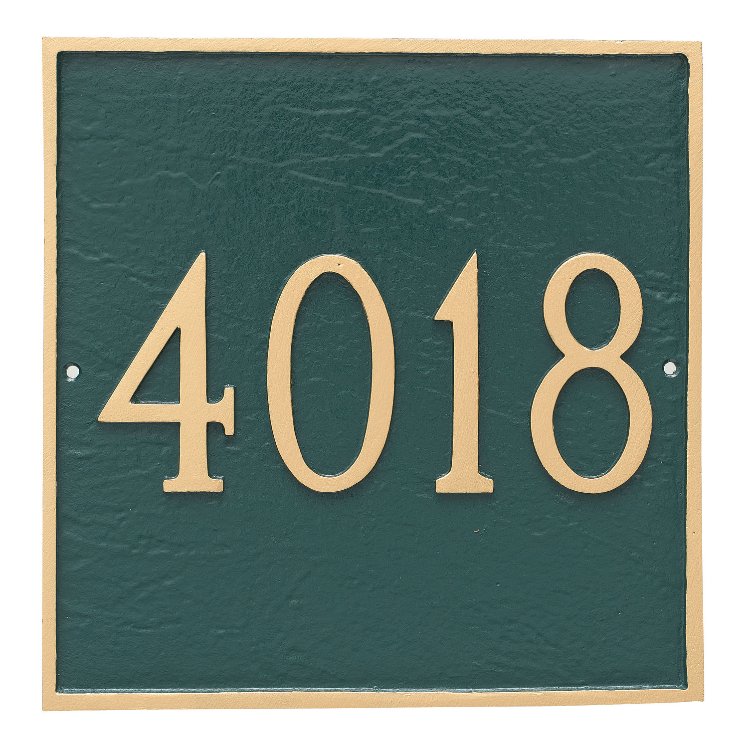 Square Address Plaque - Standard