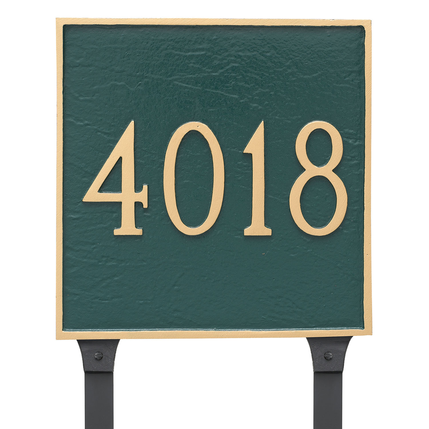 Square Address Plaque - Large