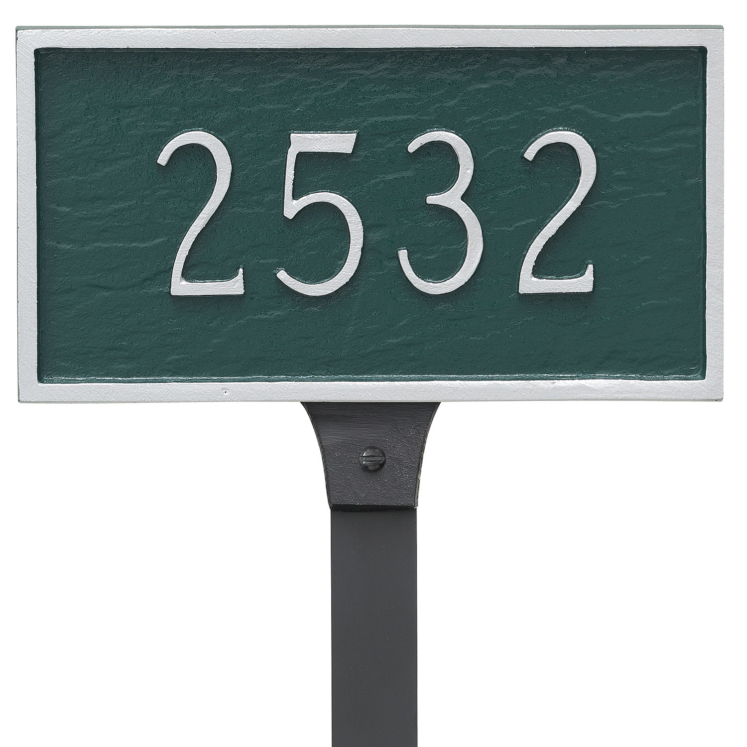 Classic Rectangle Address Plaque - Petite