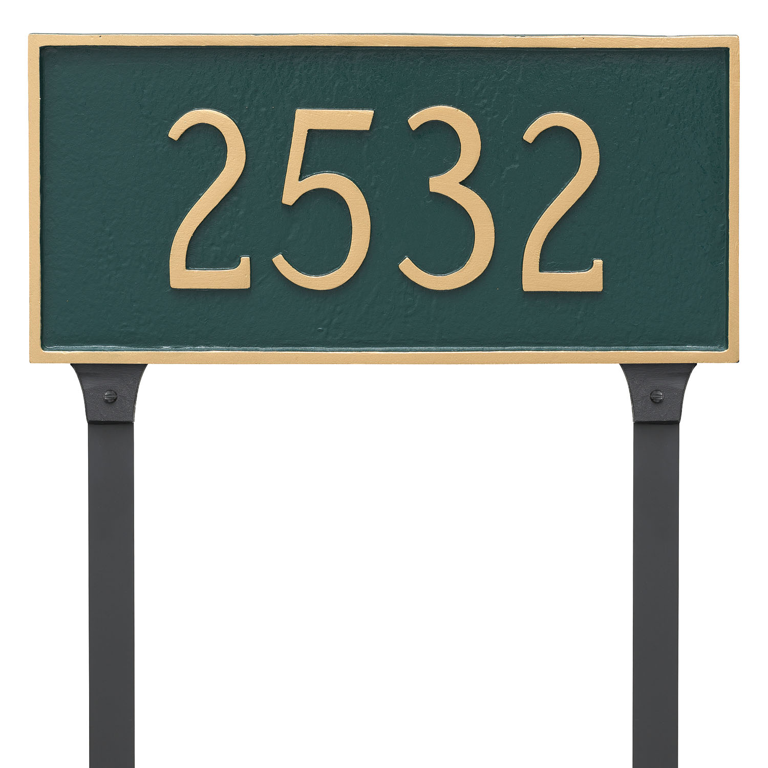 Classic Rectangle Address Plaque - Standard