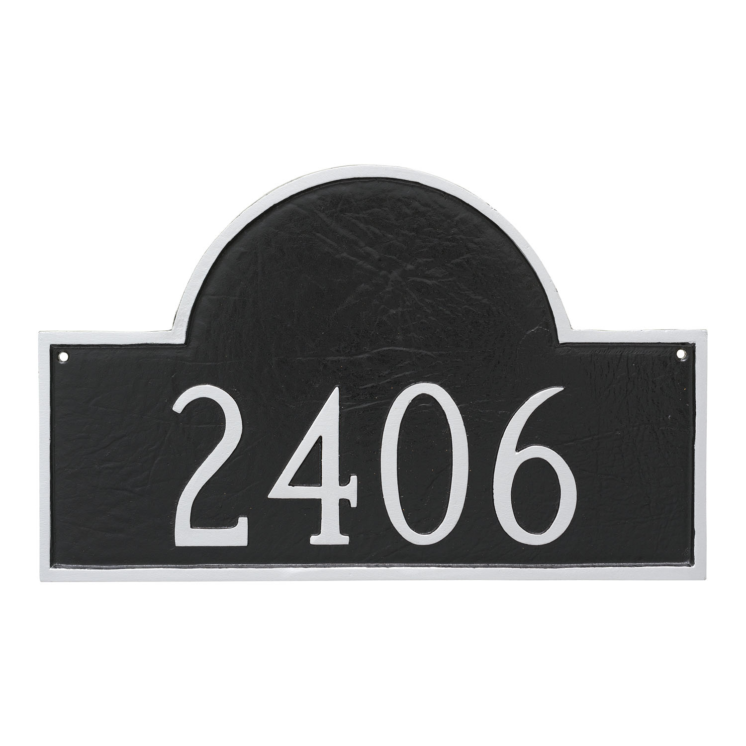 Classic Arch Address Plaque - Standard