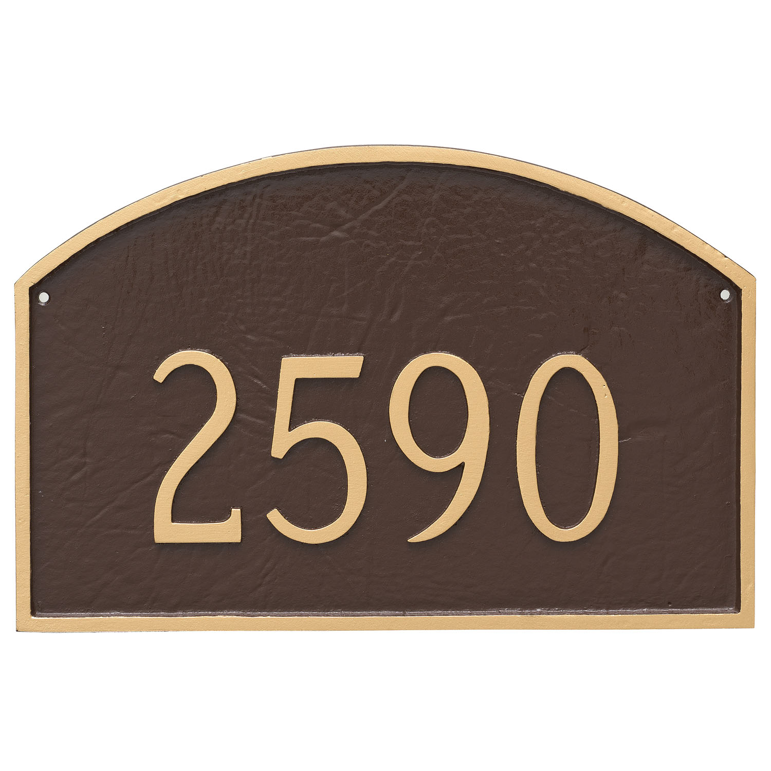 Prestige Arch Address Plaque - Standard