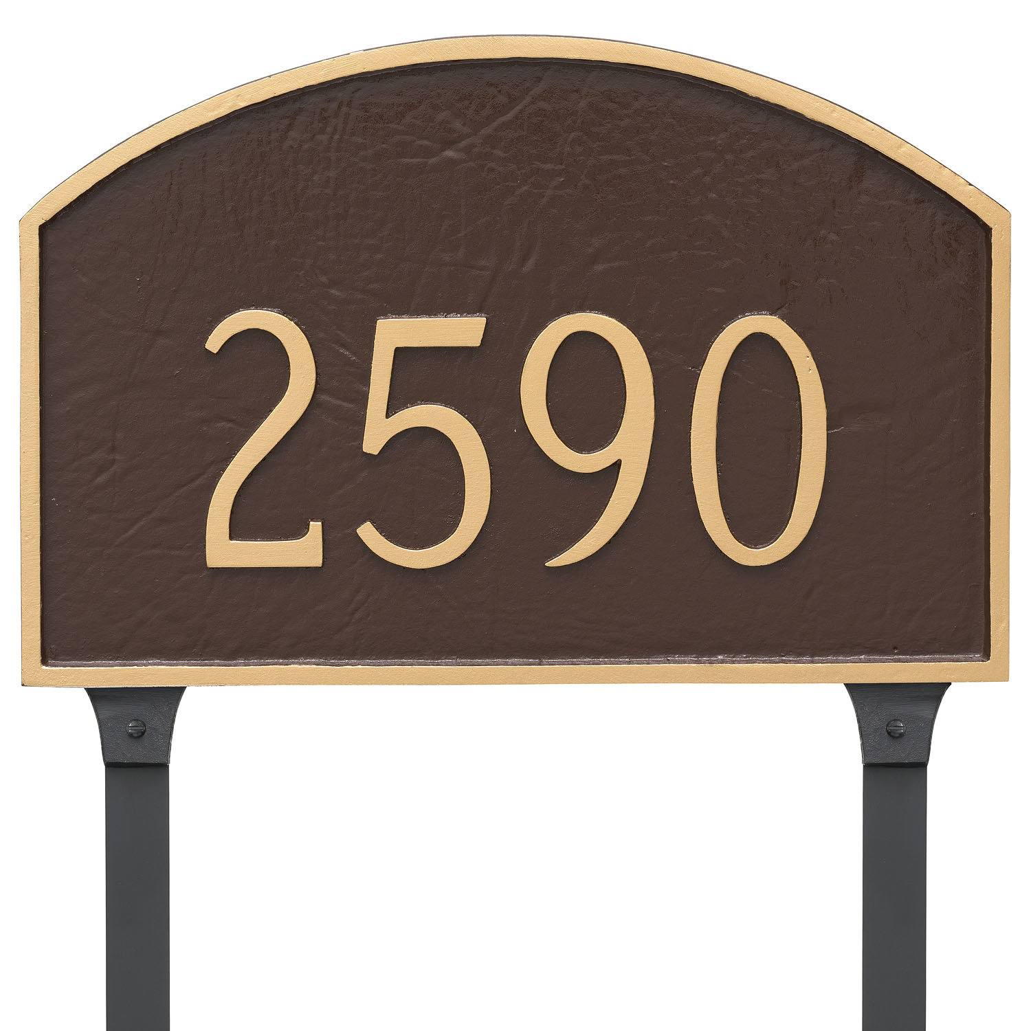 Prestige Arch Address Plaque - Large