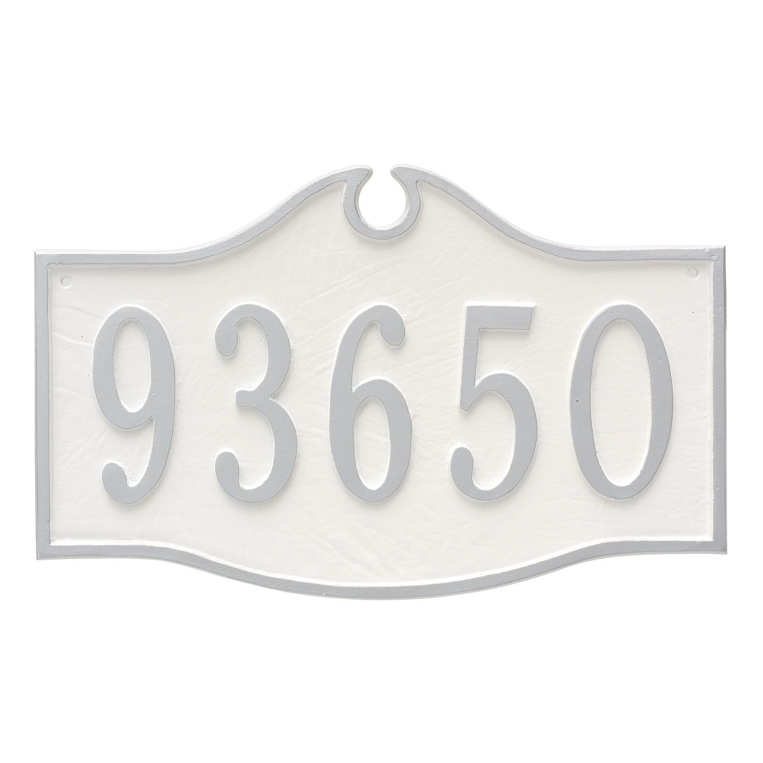 Colonial Address Plaque - Estate