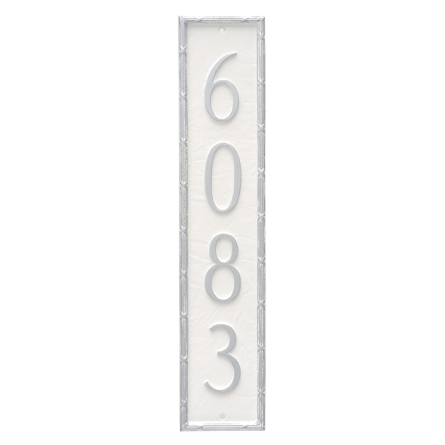 Washington Vertical Address Plaque