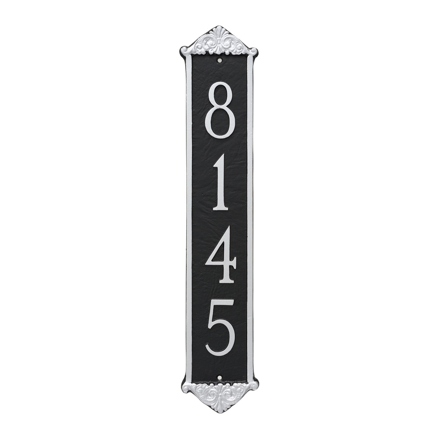 Scroll Vertical Address Plaque