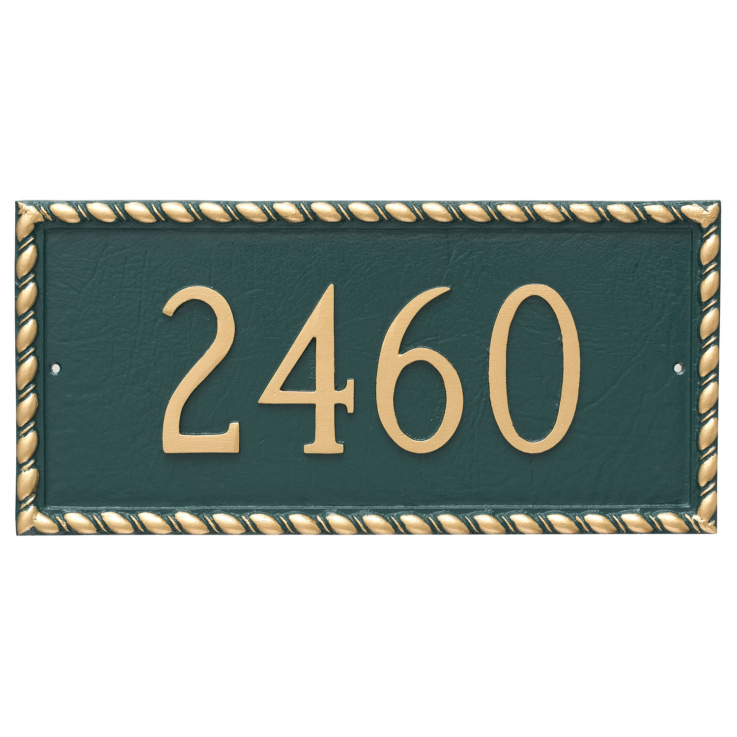 Franklin Address Plaque - 1 Line