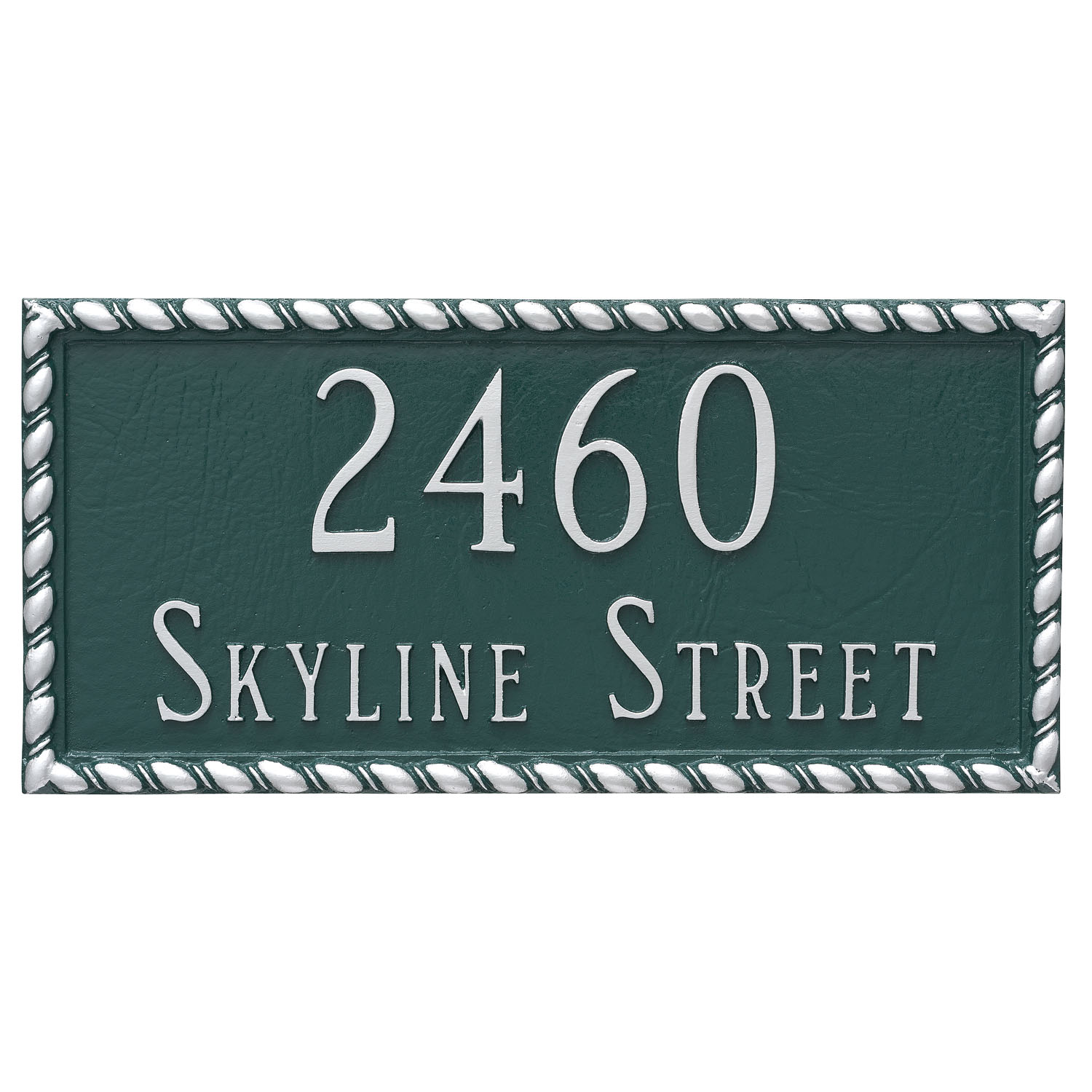 Franklin Address Plaque - 2 Line