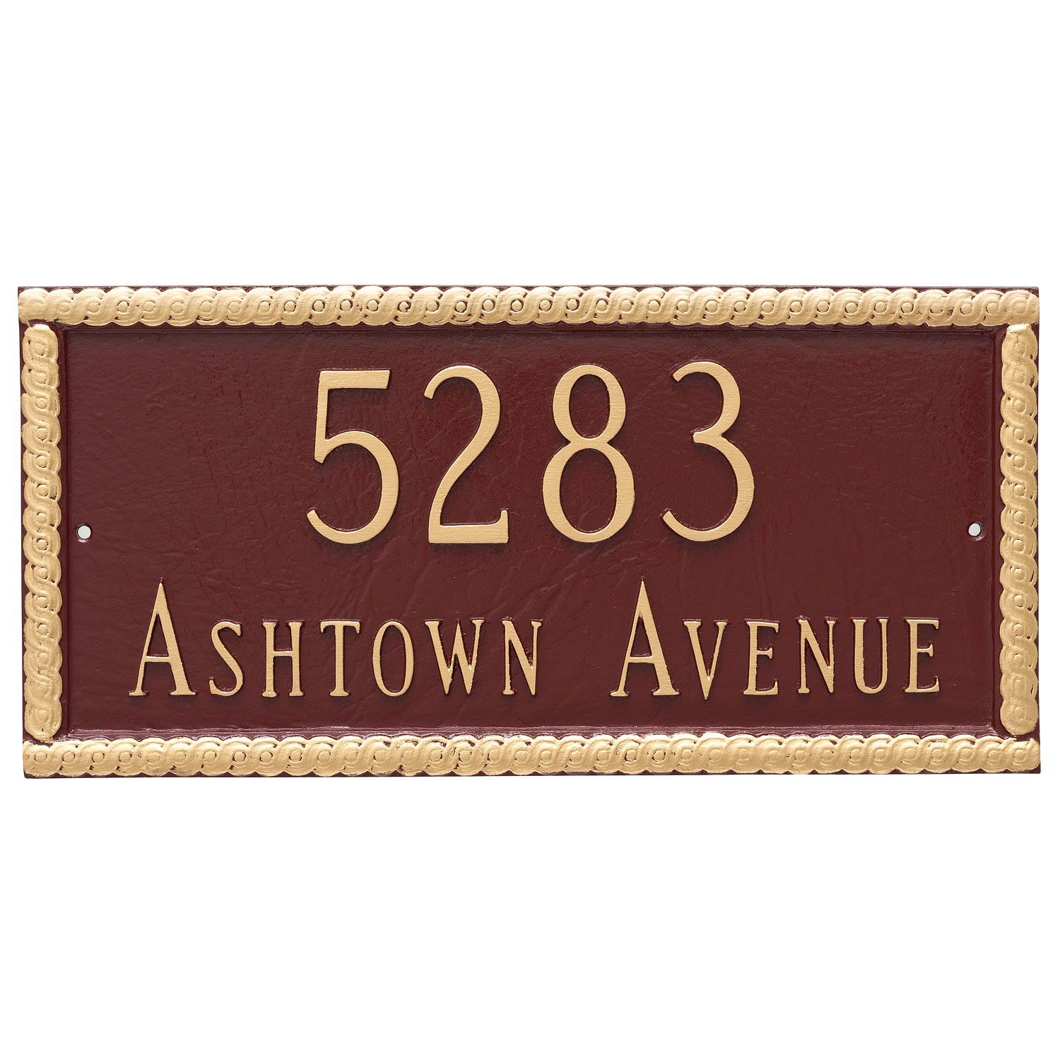 Harrison Address Plaque - 2 Line