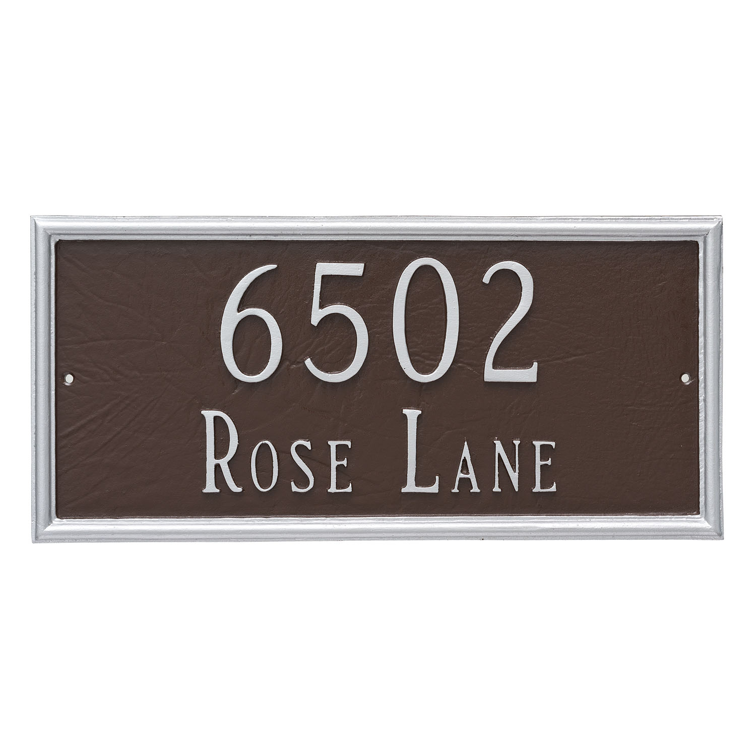 Melilla Address Plaque - 2 Line