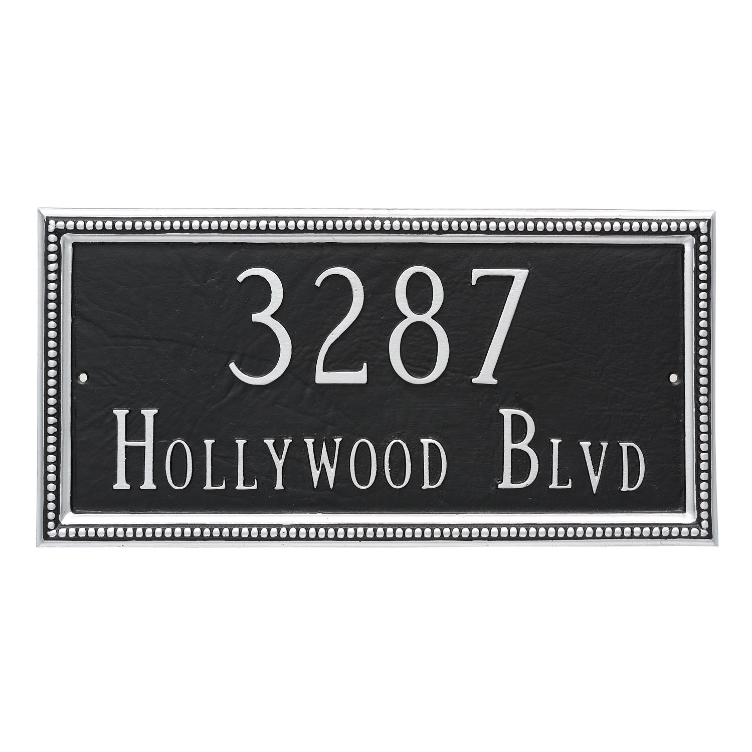 Verona Address Plaque - 2 Line