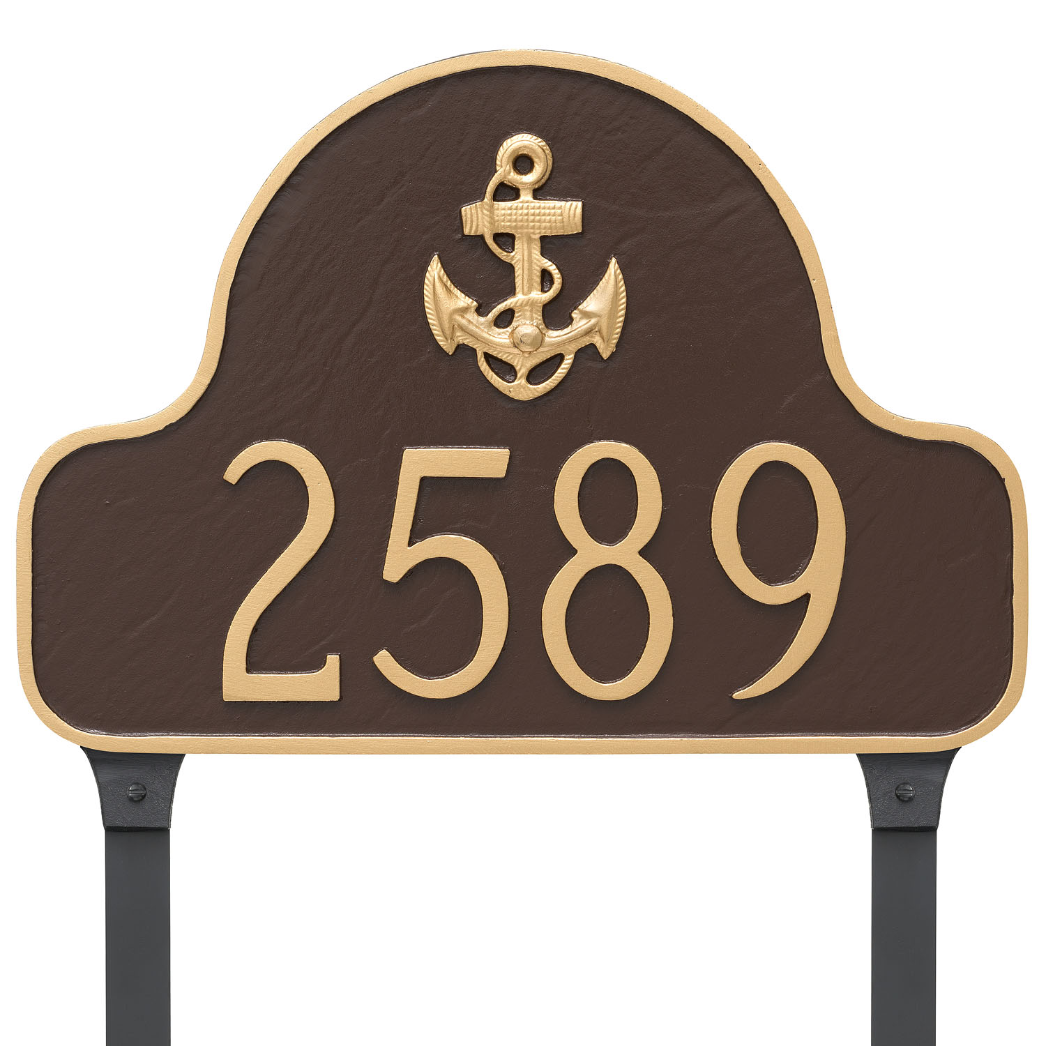 Anchor Arch Address Plaque
