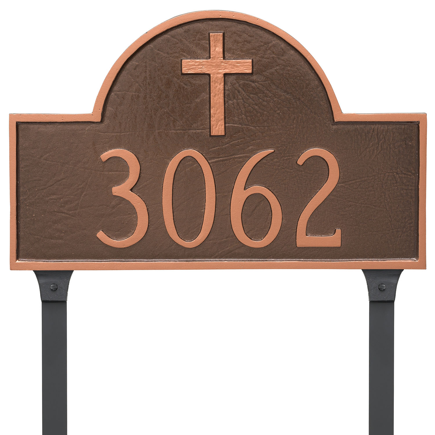 Rugged Cross Classic Arch Address Plaque