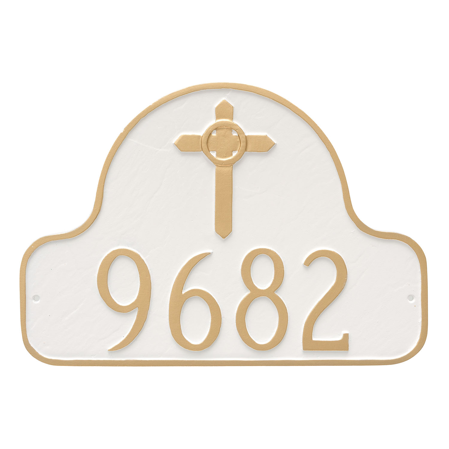 Celtic Cross Classic Arch Address Plaque