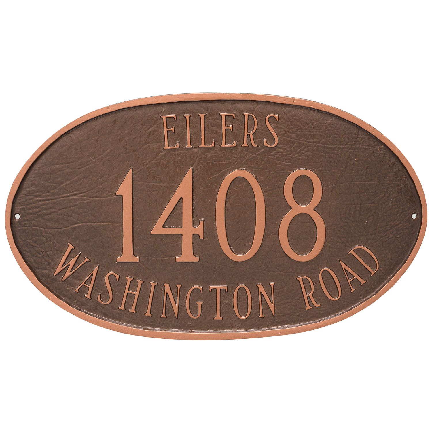 Montgomery Address Sign Plaque