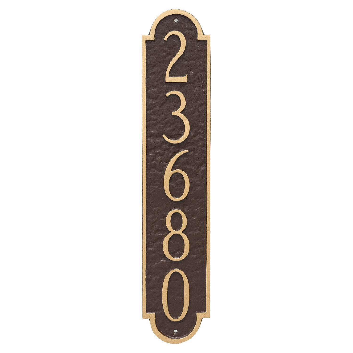 Rockford Column Address Sign Plaque