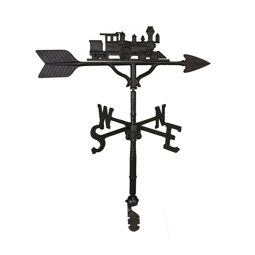 Cast Aluminum Locomotive 32in Weathervane