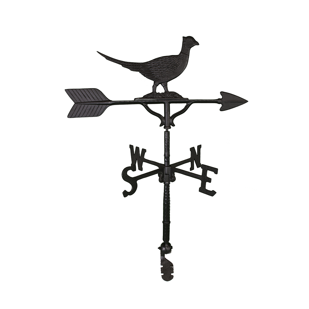 Cast Aluminum Pheasant 32in Weathervane