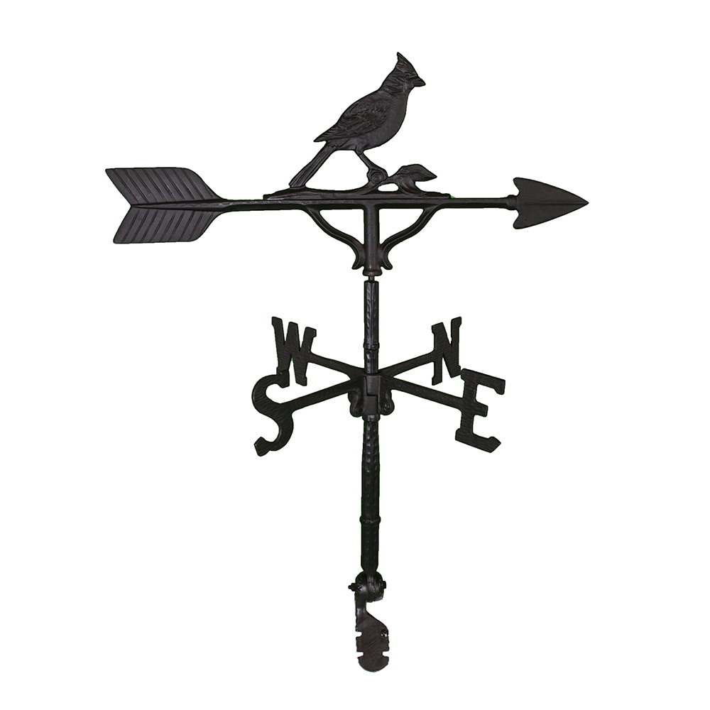 Cast Aluminum Cardinal 32in Weathervane