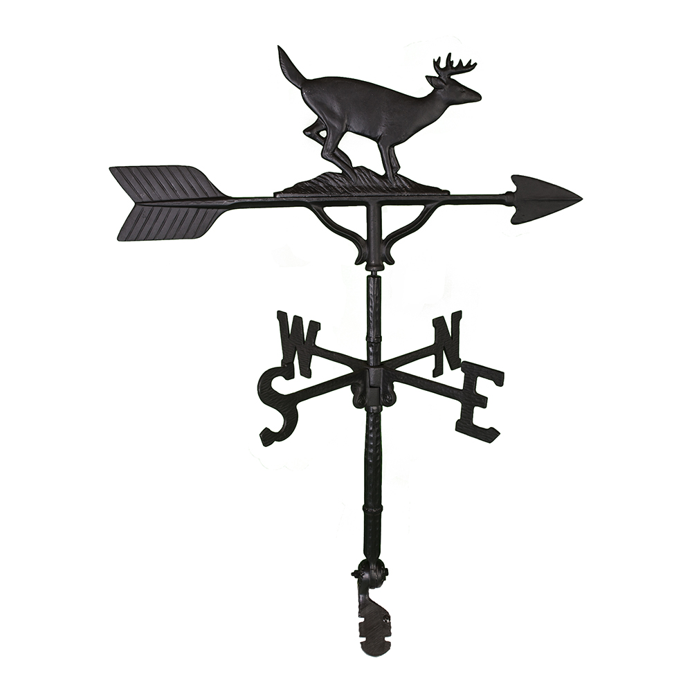"Cast Aluminum Buck 32"" Weathervane"