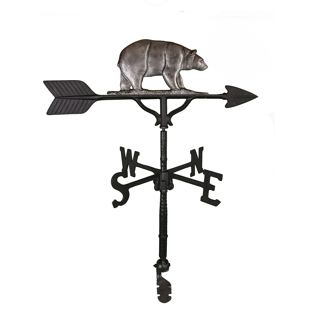 Cast Aluminum Bear 32in Weathervane