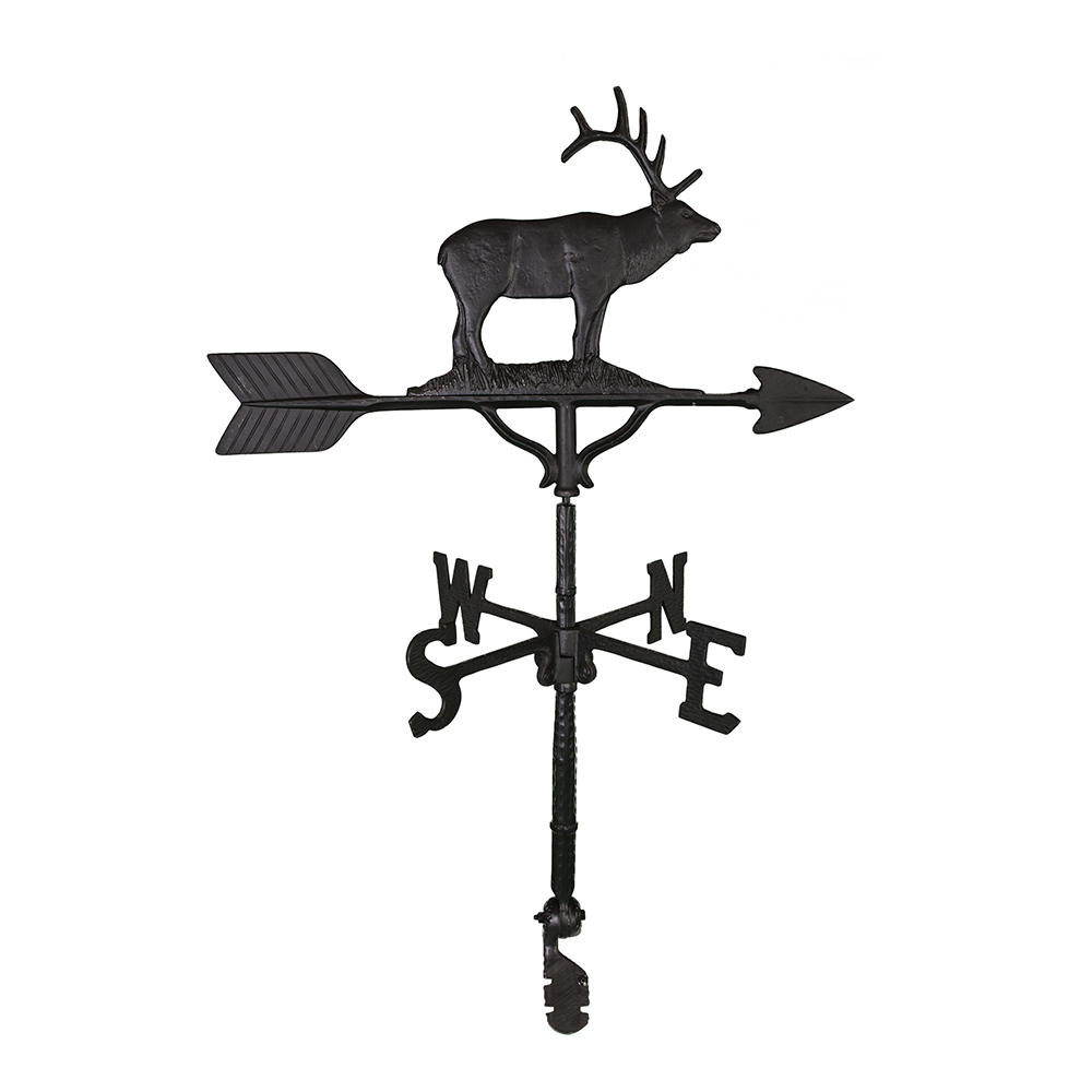 Cast Aluminum Elk 32in Weathervane