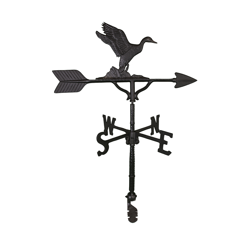 Cast Aluminum Duck 32in Weathervane